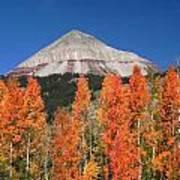 2d10688-engineer Mountain In Fall  Art Print