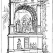 England Church Monument Art Print