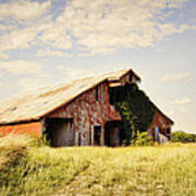 Englewood Barn Art Print