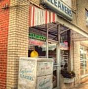 Englewood Cleaners 4540 Art Print