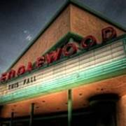 Englewood Theater 4507 Art Print