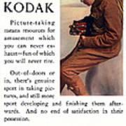 English Boy Scout. Circa 1913. Art Print