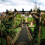 English Country Gardens - Series IIi Art Print