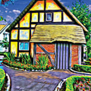 English House Art Print