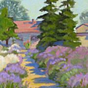 English Lavender Art Print