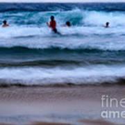 enjoy the ocean I Art Print