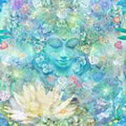 Enlightened Forest Heart 3 Art Print