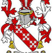 Enright Coat Of Arms Irish Art Print