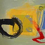 Enso Sun Block Art Print