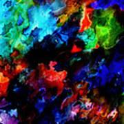 Entangled Colour Art Print
