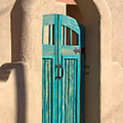 Enter Turquoise Art Print
