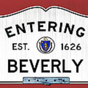 Entering Beverly Art Print
