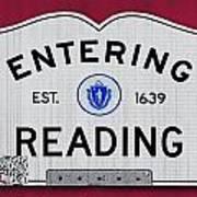 Entering Reading Art Print