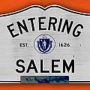 Entering Salem Art Print