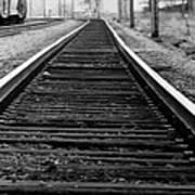 Entering The Train Yard. Washington Dc Art Print