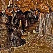 Entrance. Florida Caverns. Art Print