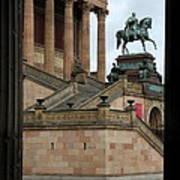 Entrance Old National Gallery Berlin Art Print