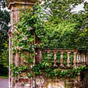 Entrance Pillar Art Print