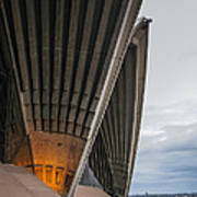 Entrance To Opera House In Sydney Art Print