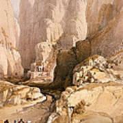 Entrance To Petra Art Print