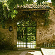 Entrance To Romeo And Juliet House Art Print