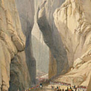 Entrance To The Bolan Pass From Dadur Art Print