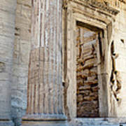 Entrance To The Temple Of The Athena Nike Art Print