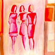 Entre Nous Art Print