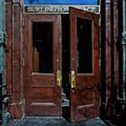 Entry - Burlington Place - Omaha Art Print