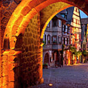 Entry To Riquewihr Art Print