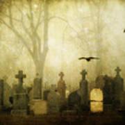 Enveloped By Fog Art Print