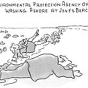 Environmental Prodection Agency Officials Washing Art Print