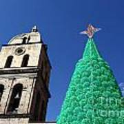 Environmentally Friendly Christmas Tree Art Print