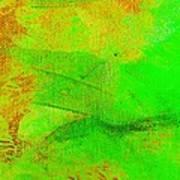 Envision Emerald Green Art Print