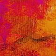 Envision Golden Purple Art Print