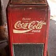 Epcot Old Coke Art Print