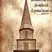 Ephesians 2 14 Art Print