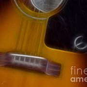 Epiphone Acoustic-9429-fractal Art Print