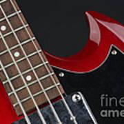 Epiphone Sg Bass-9205 Art Print