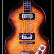 Epiphone Viola Bass Guitar Art Print