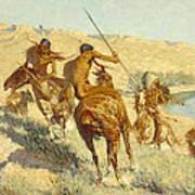 Episode Of The Buffalo Gun Art Print