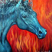 Equus Diabolus Diablo Art Print