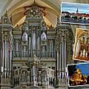 Erfurt Organ Montage Art Print