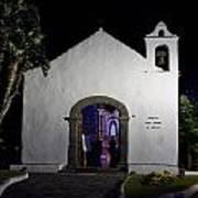 Ermita San Telmo. Puerto De La Cruz By Night Art Print