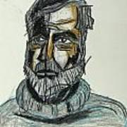 Ernest Hemingway 1 Art Print