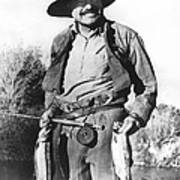 Ernest Hemingway Fishing Art Print