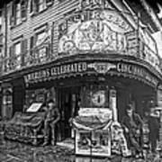Ernst Roebers Saloon - Manhattan - 1908 Art Print by Daniel Hagerman