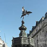 Eros At Piccadilly Art Print