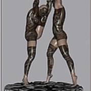 erotic acrobatics 2EA 1 Print by Pemaro