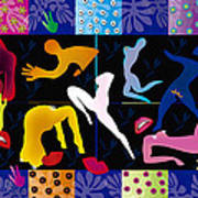 Erotic Matisses - Limited Edition 2 Of 8 Art Print
